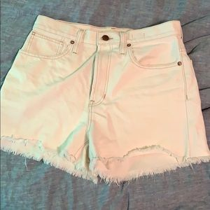 The Perfect Jean Short in Cloud lining
